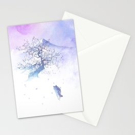 The long way to Fuji Stationery Cards