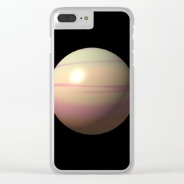 Lonely planet II Clear iPhone Case