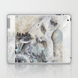 "Animal - ""Sweet Wolf"" - by LiliFlore Laptop & iPad Skin"