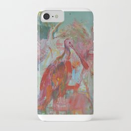 My Mother Dreamt a Scarlet Ibis iPhone Case