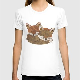 Shelter (Stacked Foxes) T-shirt