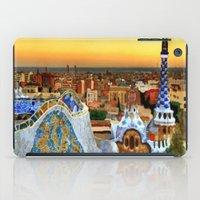 barcelona iPad Cases featuring Barcelona by Darla Designs