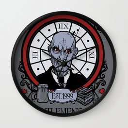 Seven of Hearts 2012 update Wall Clock