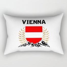 Vienna Austria Alps TShirt Austria Flag Shirt Austrian Alps Gift Idea  Rectangular Pillow
