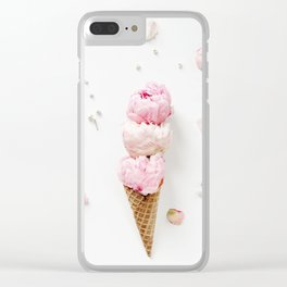 Triple Scoop Clear iPhone Case