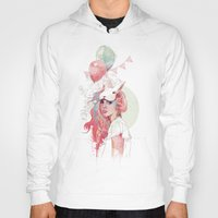 party Hoodies featuring Sweet Party by Ariana Perez