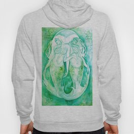Goddess of Pisces - A Water Element Hoody