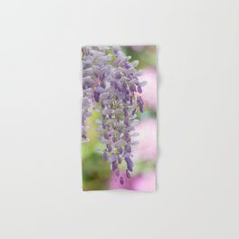 Rustic Wisteria Textured Hand & Bath Towel