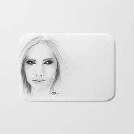 Avril Lavigne Bath Mat