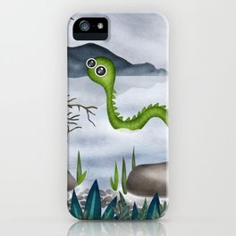 Loch ness moster iPhone Case