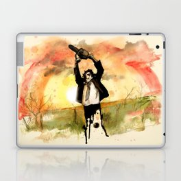 Chainsaw Sunrise Laptop & iPad Skin
