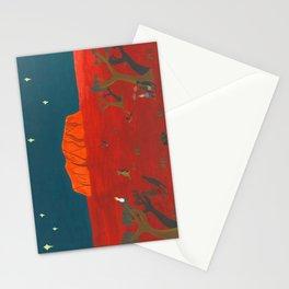Evening at Uluru Stationery Cards