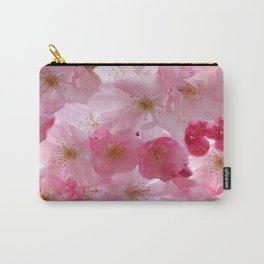 Delicate Cherry Blossoms Carry-All Pouch
