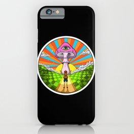Hippie Magic Mushroom iPhone Case