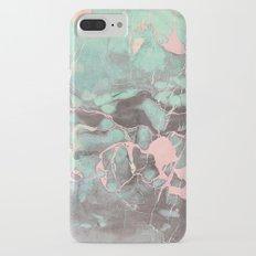 Delicate Shadow Marble iPhone 8 Plus Slim Case