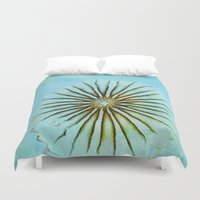 transparent Duvet Covers featuring Transparent-Sea by Bella Blue Photography