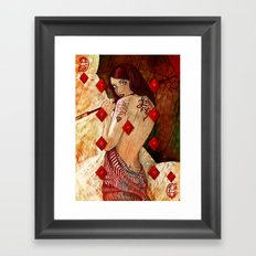 Lucky Number 9 Framed Art Print
