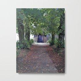 English Church Door Metal Print