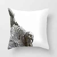 turkey Throw Pillows featuring Turkey! by MClementTheArtist
