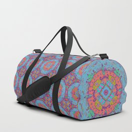 Dragonfly Mandala Pattern Duffle Bag