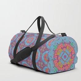 Dragonfly Mandala Pattern Duffle Bag