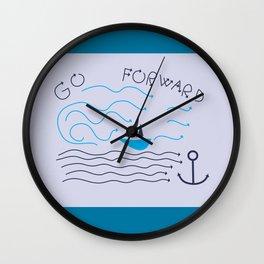 Forward Wall Clock
