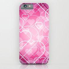Hard line Heart Bokeh iPhone 6s Slim Case