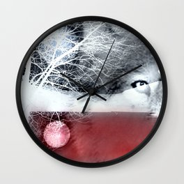 Wolf's blood Wall Clock