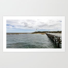Point Lonsdale Panorama Art Print