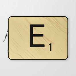 Scrabble E Decor, Scrabble Art, Large Scrabble Prints, Word Art, Accessories, Apparel, Home Decor Laptop Sleeve
