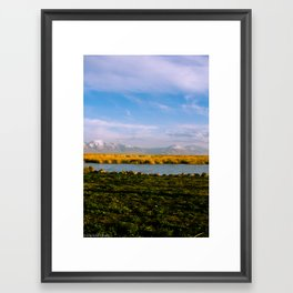 Utah Lake Framed Art Print