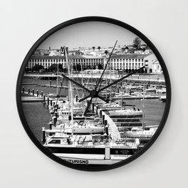 Ponta Delgada, Azores Wall Clock