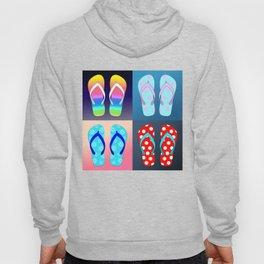 Flip Flop Pop Art Hoody