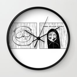 Inkberry Comics: Wet Rats Wall Clock