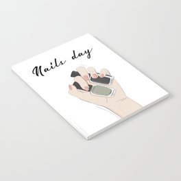 Nails day Notebook
