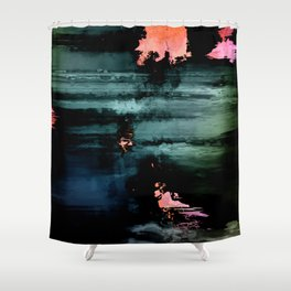 Soft Fire Abstract 1 Shower Curtain