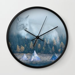 The Great Spirit Wall Clock