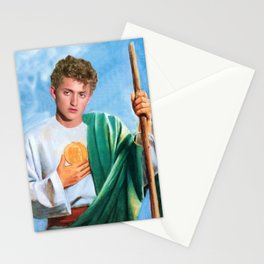 Saint Bill S. Preston Esquire Stationery Cards