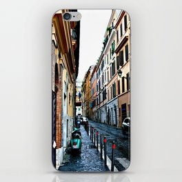 Alley in Rome Italy iPhone Skin