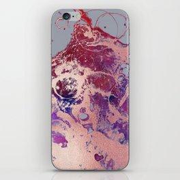 Rose Gold Smoke iPhone Skin