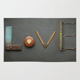 LOVE Vintage Tools Rug