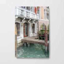 Le portail Venezia Metal Print