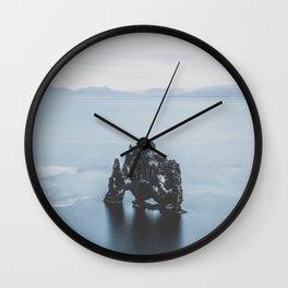 Hvitserkur, Iceland III Wall Clock