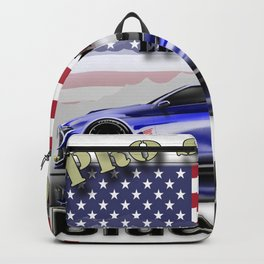 Pro Street Car - American Style Backpack