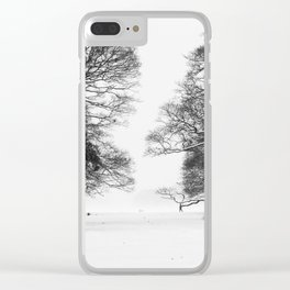 Winter in the Park - Print (RR 271) Clear iPhone Case