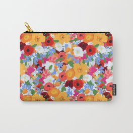 Bright wild flowers Carry-All Pouch
