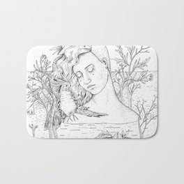 Pomegranate Island Bath Mat