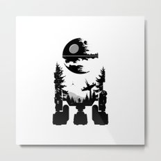 The Dark Side Metal Print