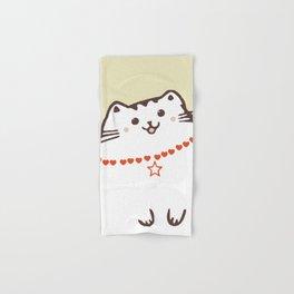 Love cat meow! Hand & Bath Towel