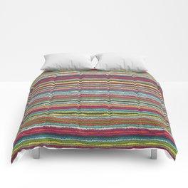 Honolulu chevron Comforters